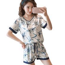 2019 Sleep Lounge Sleepwear Set Cotton Women