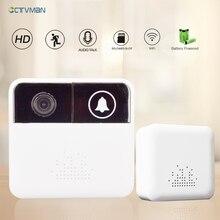 CTVMAN Wireless doorbell Wifi Mini Camera HD 720p Video Intercom Door bell Alarm Home Intercoms Video Doors Viewer For Apartment