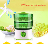 Automatic Intelligence Bean Sprouts Maker 110V Home Use Bean Sprouts Machine 110V Special For America Taiwan