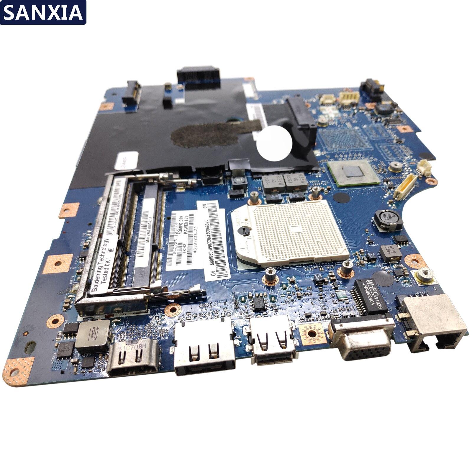 KEFU LA 5754P ノートパソコンのマザーボードレノボ IdeaPad Z565 G565 オリジナルと HDMI  グループ上の パソコン & オフィス からの マザーボード の中 3