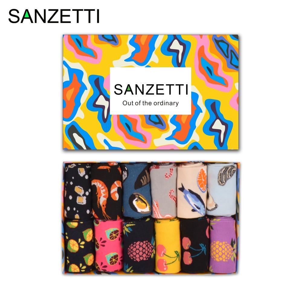 Sanzetti 12 زوج / وحدة ملون الرجال بتمشيط - ملابس رجالية