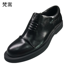 big size High Quality Genuine Leather Shoes Men Business Shoes,Men Dress British retro men shoes cowhide loafer