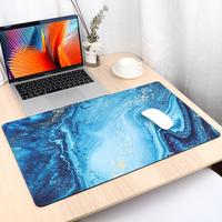 Gaming Mouse Pad Large Mouse Pad Gamer Big Mouse Mat Computer Mousepad XL Surface Marble Pattern Mause Pad Keyboard Desk Mat