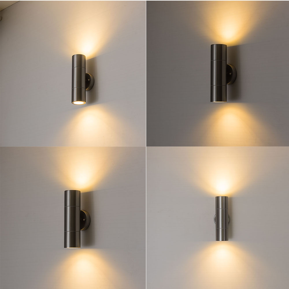 ZMJUJA 10W lampada LED Aluminium wall light rail project up dwon LED wall lamp bedside room bedroom wall lamps arts