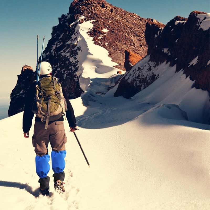 Bisiklet Ayakkabı Kapağı Su Geçirmez Yürüyüş Trekking Tırmanma Kayak Botları Çorapları Erkek Kadın Kar bacak ısıtıcısı