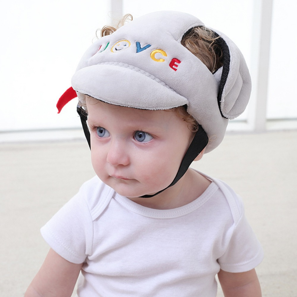 Edge & Corner Guards Baby Infant Safety Protective Helmet Learn To Walk Cap Anti-collision Soft Comfortable Head Security Corner Guard Cap Toddler