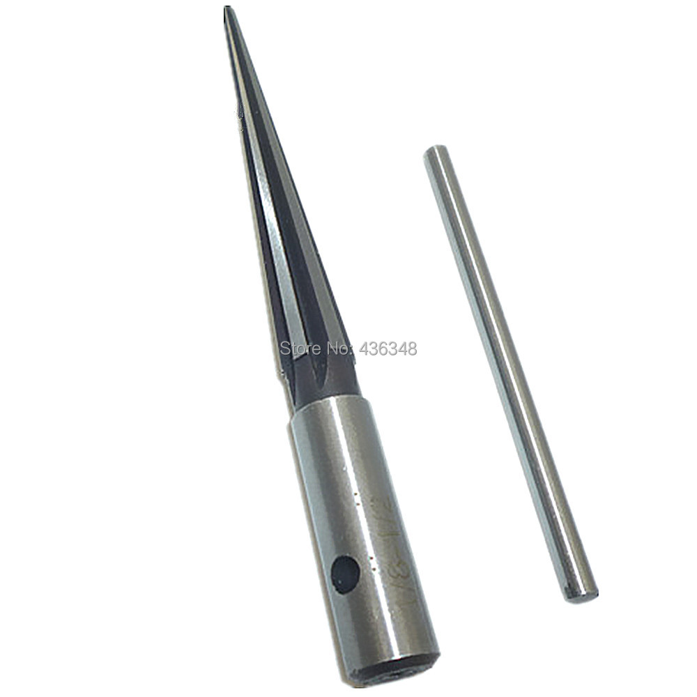 """3.18-12.7mm 6Flute T Handle Tapered Reamer Bridge Pin Hole 1//8/"""" to 1//2/"""""""