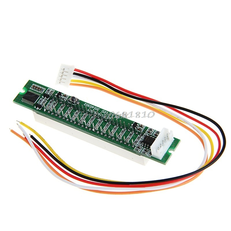 Adjustable Light Dual 12 Stereo Level indicator LED VU Meter lamps Speed Board Z09 Drop ship aiyima 5pcs 5v rgb led level indicator vu meter amplifier board diy mcu adjustable display pattern dual channel dual 24
