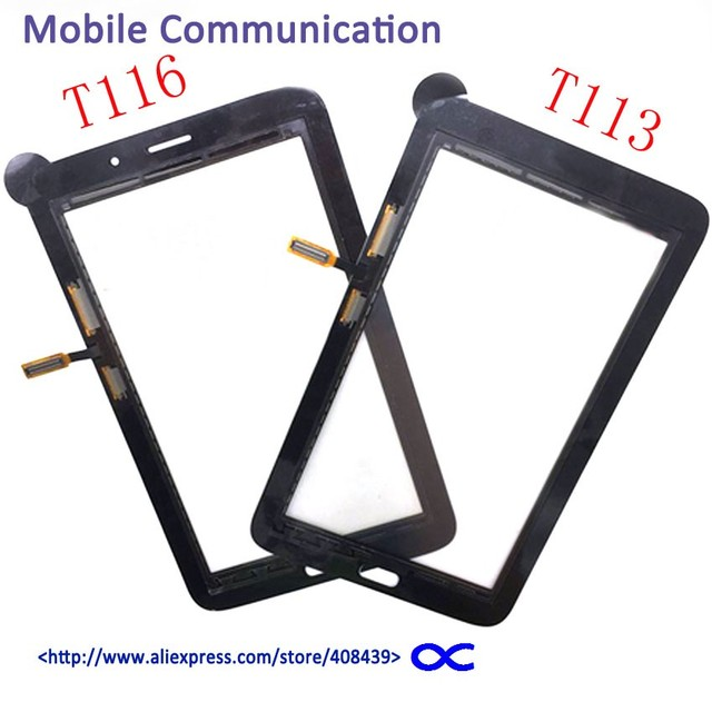 20pcs New T116 T113 Touch Screen for Samsung Galaxy Tab 3 Lite SM-T113 T116 Touch Glass Lens Panel