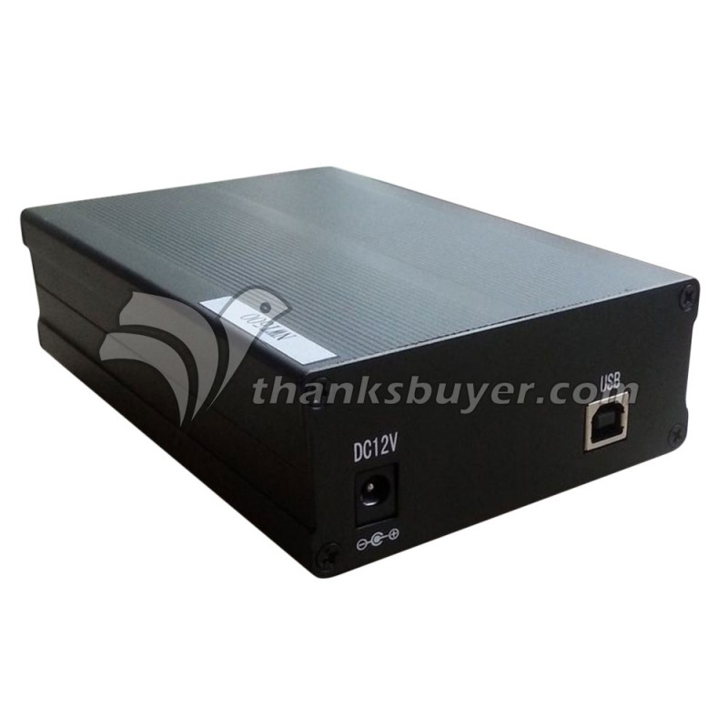 NWT500 BNC Fréquence Balayage Analyseur Amplitude Fréquence Mètre DC12V 50 K à 550 M USB Interface