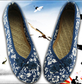 Freeshipping Best Selling Casual Old Beijing Fashion Clothing Shoes Size 34-40 Lady Flat Shoes Comfortable Lady shoe V082