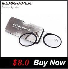 d5af396fc0 Wearkaper tr-90 medio metal Marcos Delgado compacto portátil Gafas para leer  anti fatiga del ojo W/case 1 1.5 2 2.5 3 3.5 4