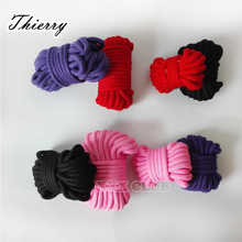 Thierry 5M/10M bondage rope, slave restraint rope for adult sex game, erotic sex