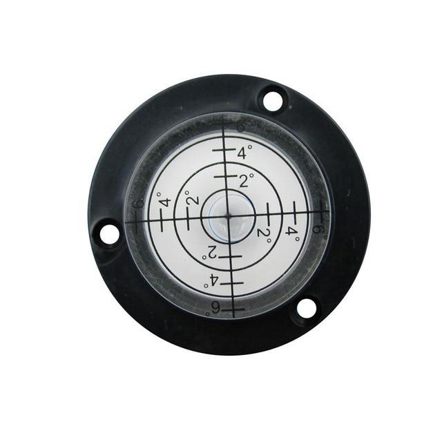 HACCURY 50*17 mm Circular spirit level water level tool Round spirit level  bubble vials Five Styles