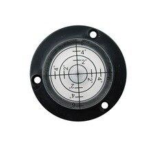 Hackury niveau à bulle circulaire 50x17mm, outil pour niveau à bulle, cinq Styles