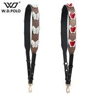 WDPOLO New Shiny Adjust Design Women Handbags Strap New Trendy Bags Belts Easy Matching Women Bags