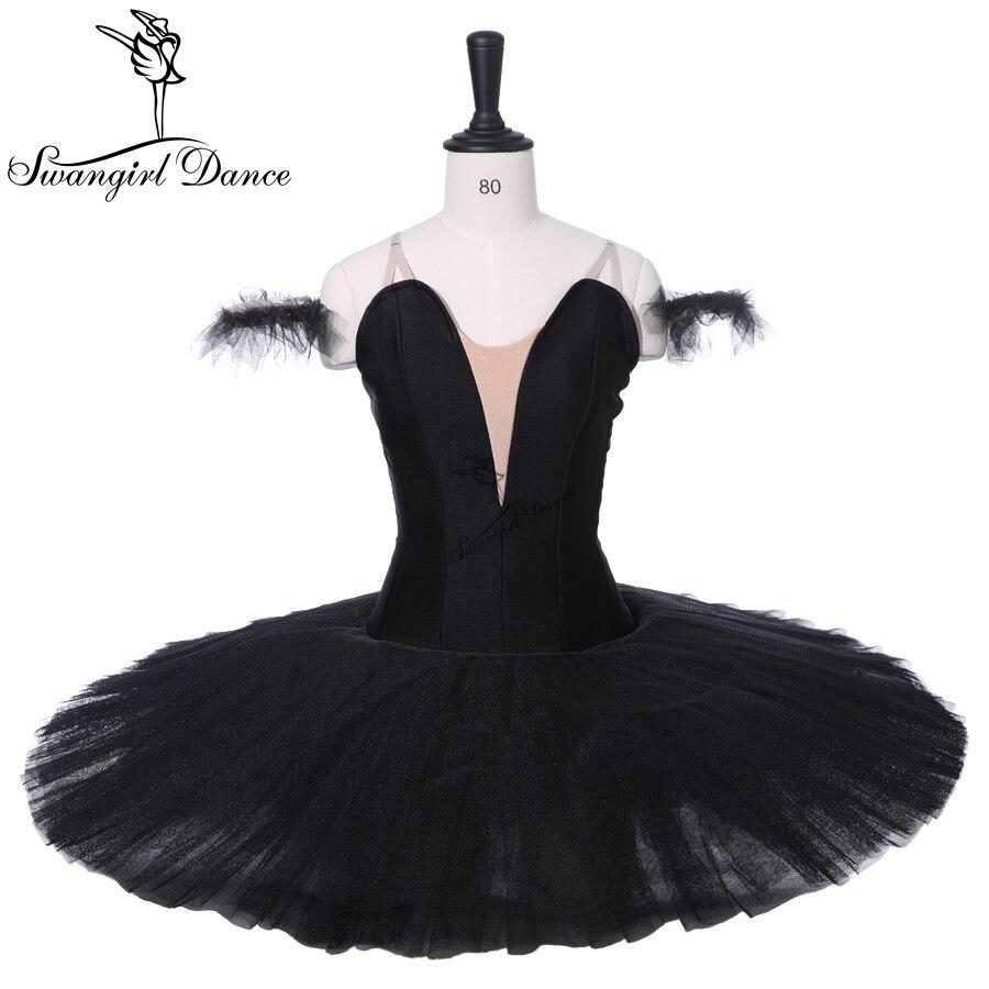 1915c982074f Girls Black Swan Lake Professional Stage Tutu Costumes Women Ballerina  Dance Costumes Tutu Performance for Adult