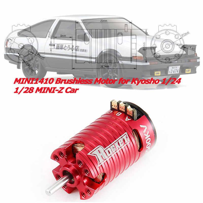 SURPASSHOBBY actualizado MINI1410 3500KV Motor sin escobillas para Kyosho Mr03 Pro atómica DRZ 1/24 1/28 RC 1/32 Mini-Z Coche