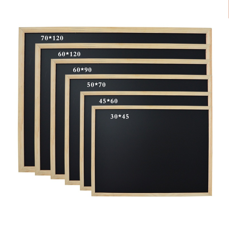 60*60 Cm MDF Frame Blackboard Customize Blackboard Wood Teaching Blackboard Message Board