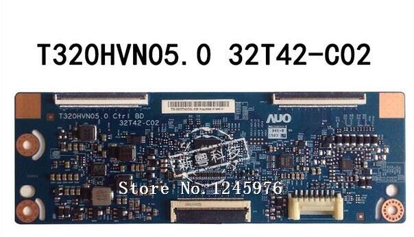 free shipping 100% original for samgsung UE32H5000AKXXU T320HVN05.0 32T42-C02 logic board test work