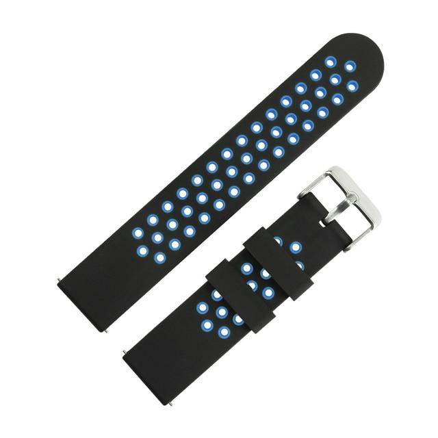 Bracelet de montre intelligente COLMI 20 MM pour montre intelligente SN60 SN12 S9 Sport3 etc.