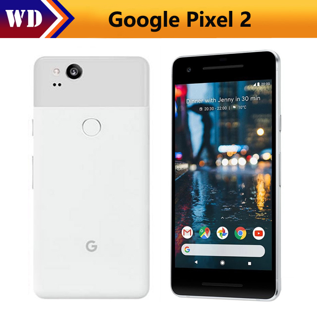 European Unlocked Original Google Pixel 2 Cell Phone Qualcomm835 5.0 Amoled Screen 4gb Ram 64gb/128gb Refurbished Phone Catalogues Will Be Sent Upon Request Advertising