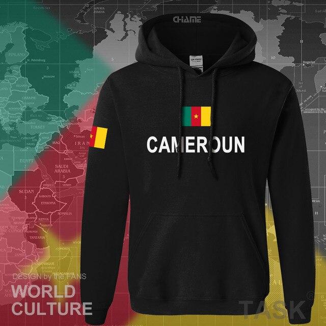 Cameroon hoodies men sweatshirt sweat new hip hop streetwear tracksuit nation footballer sporting flag CMR Cameroun Cameroonian 1