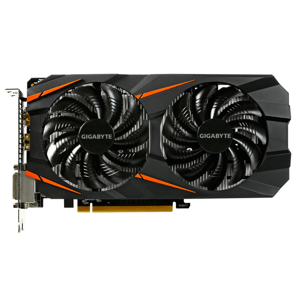 Used GIGABYTE Video Card GTX 1060 3GB Graphics Cards Map For nVIDIA Geforce GTX1060 OC GDDR5