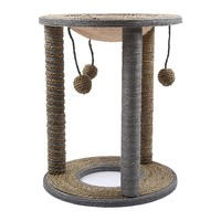 High Quality Dog Cat Climbing Sisal Frame Pet Jumping Scratching Tree Cat Dog Scratching Toys Pet