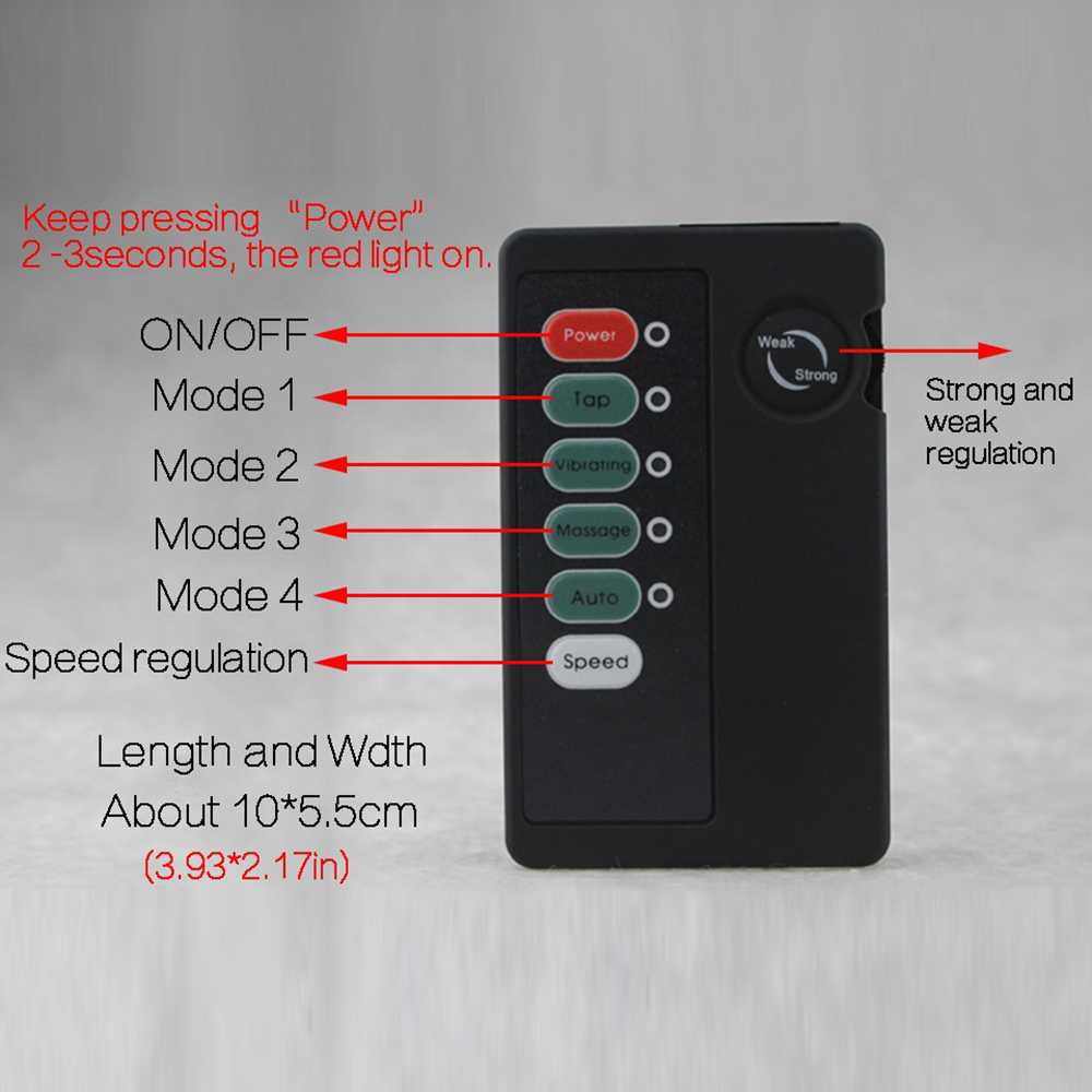Electric Shock 12539Cm Pulse Anal Butt Plug - Best -7862
