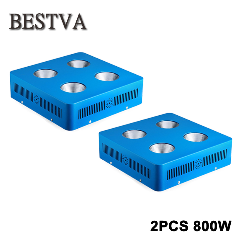 2PCS Full Spectrum COB LED Grow Light for Indoor Plant Vegetative Flowering, 800W plant led grow light COB for hydroponics full spectrum cob 150w led grow light cob led lamp uv ir grow tent lighting for flowering plant and hydroponics grow box