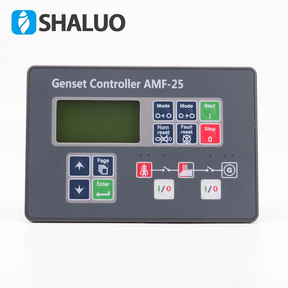 Diesel Genset Generator Control Module AMF25 auto start generator controller compatible With Original free shipping dse7310 generator controller auto start control module suit for any diesel generator