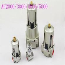 цена на AF2000-02D 3000-02D 4000-04D 4000-06D 5000-06D 5000-10D Pneumatic Filter Air Treatment Unit Pressure Regulator Compressor