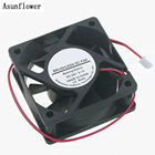 6025 DC 24V 0.1A 60x60x25mm 4500RPM PC Case Fan 2 Pin Brushless PC Fan Cooler XH2.54 Connector Cooling Fan