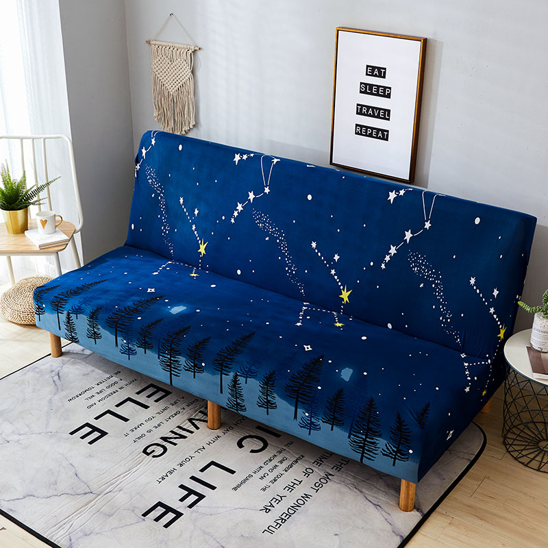 Terrific Us 5 63 50 Off Stretch Sofa Bed Cover No Armrest Folding Sofa Cover Couch Cover Slipcovers For Living Room Cubre Sofa Canape Salon 160 190Cm In Sofa Ibusinesslaw Wood Chair Design Ideas Ibusinesslaworg