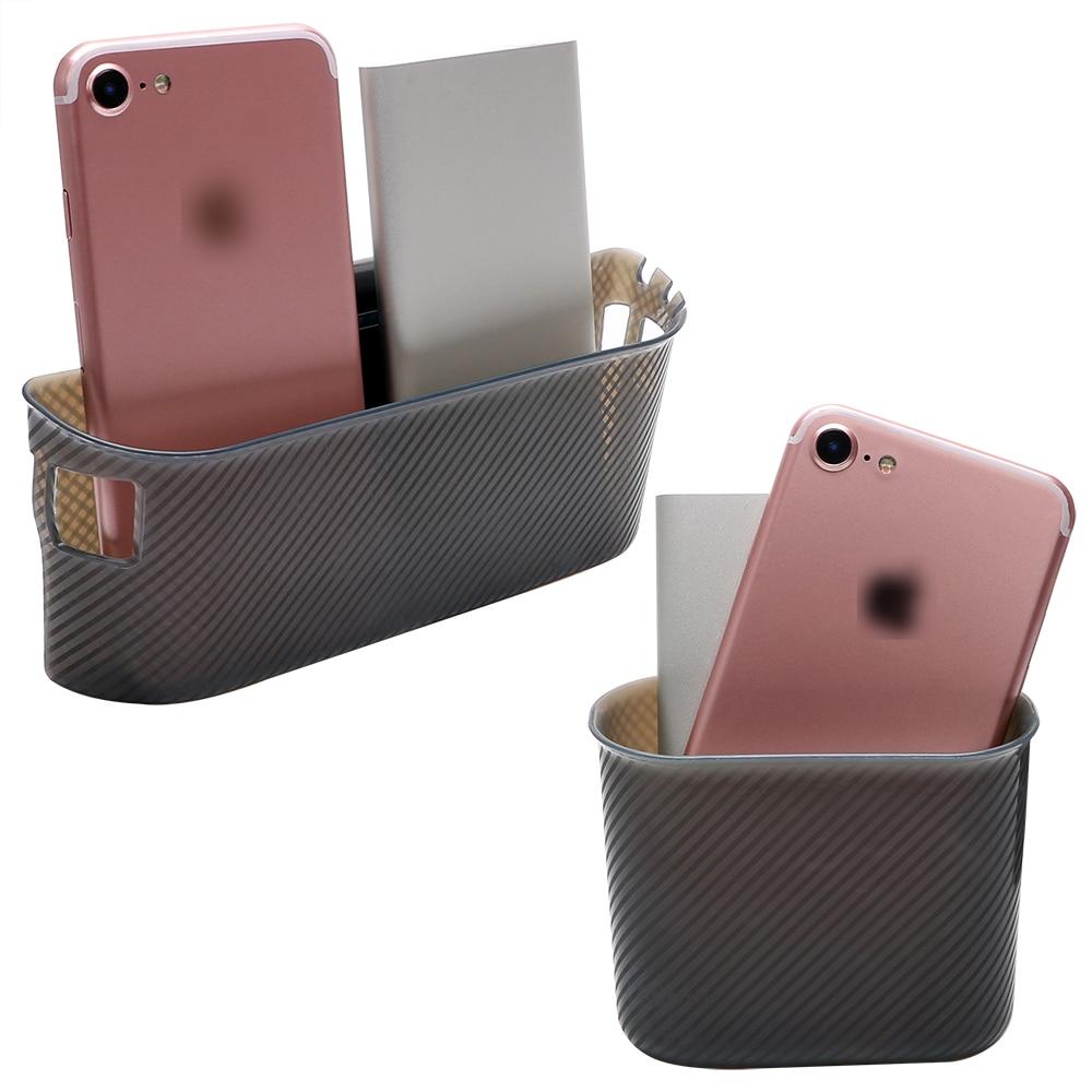 Car Storage Box Trash Bin Organizer Door Side Hanging Pocket Garbage Card Phone Holder Cradle Stowing Tidying Accessories