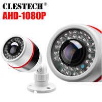 720P 960P 1080P 1MP 2MP AHD caméra de vidéosurveillance 1.7MM objectif Fisheye 180 degrés panoramique Vision nocturne étanche caméra extérieure