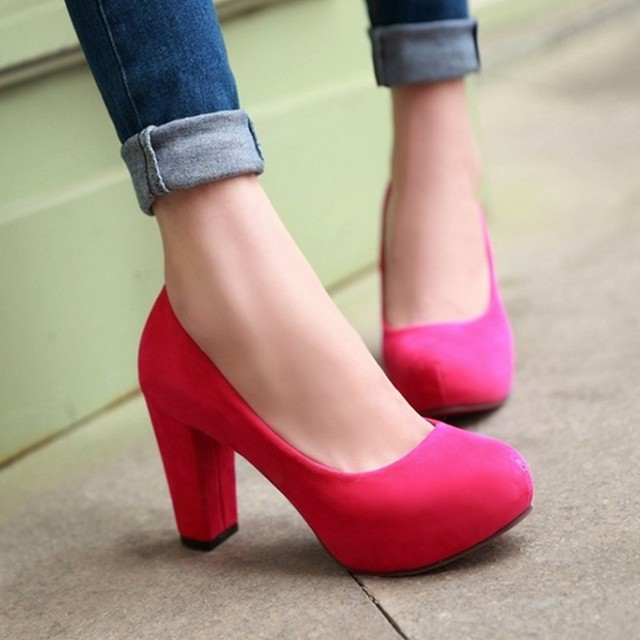 2016 Boda de la Manera Bombas Sexy Zapatos de Tacón Alto Plataforma de Diseño De Marca de Partido de Las Mujeres Zapatos de tacón alto calzado plus Gran tamaño 34-43