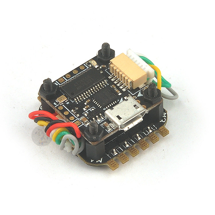 Teeny1S F3 flight control flying tower Integrated OSD 4 in 1 6A BLheli_S ESC 16x16mm for DIY 1S FPV indoor quadcopter mini drone astro city private lives