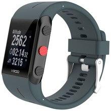 Substituição de Borracha de Silicone Watch Band Alça de Pulso Para V800 POLAR Relógio HOT SLAE 18Feb03