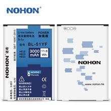 Nohon Battery 3000mAh High Capacity For LG G4 H818 H819 H810BL-51YF Best Quality