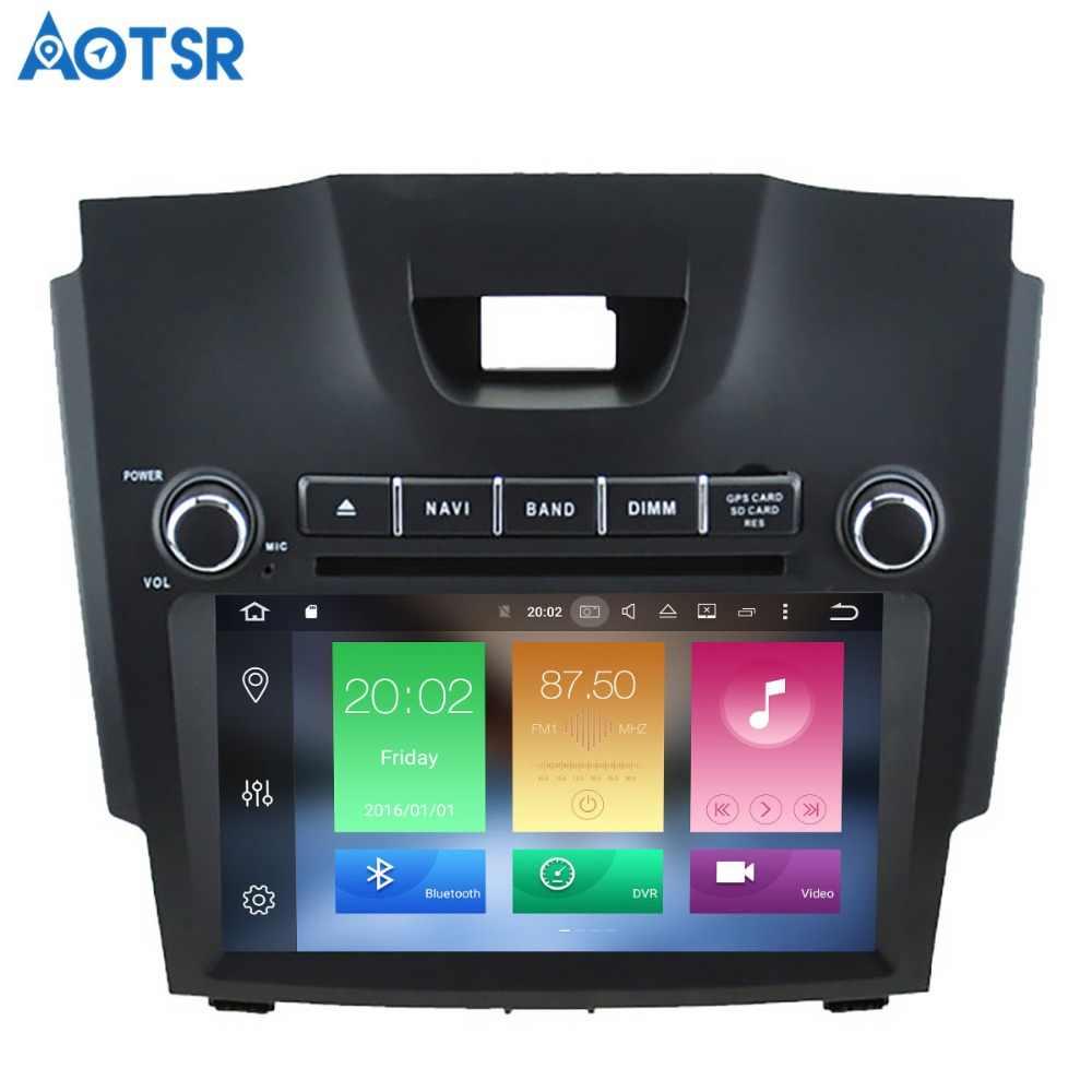 Aotsr الروبوت 8.1 GPS والملاحة سيارة مشغل ديفيدي لشفروليه S10 ايسوزو D-MAX الوسائط المتعددة 2 الدين راديو مسجل 4 GB + 32 GB 2 GB + 16 GB