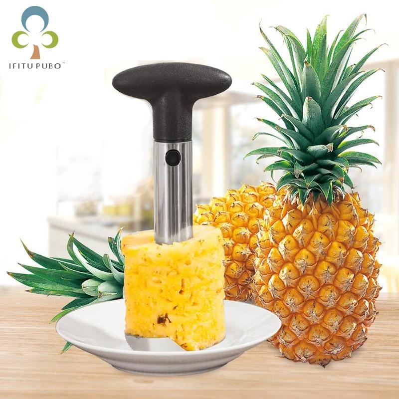 Knife Kitchen Tool Stainless Fruit Pineapple Corer Slicer Peeler Cutter Parer Best Selling Pineapple Slicers GYH