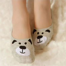 Women Short Socks  Cat Cotton
