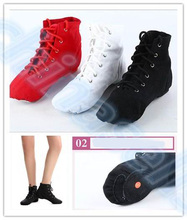 5pairs Adult kid Jazz Dance Shoes lady Up Boots Woman Sneaker Soft Light Weight ballet shoes