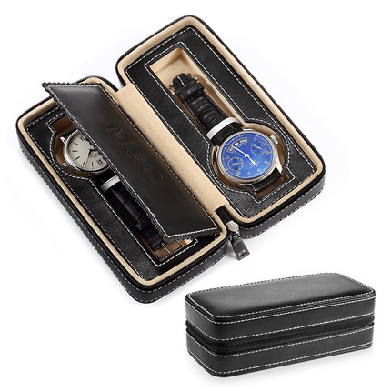 Leather Watch Storage Boxes Case New Mechanical Watch Display Case With Zipper Travel Watch Protect Gift BoxLeather Watch Storage Boxes Case New Mechanical Watch Display Case With Zipper Travel Watch Protect Gift Box