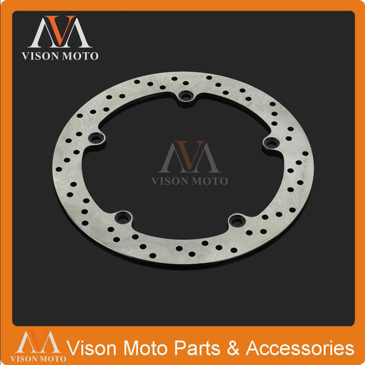 Rear Brake Disc Rotor For BMW R1100GS 93-99 R1100R R1100S 96-06 R1100RT 94-01 R1150GS ADVENTURE R1150 01-06 R1150RT R1150RS 5 holes rear brake disc rotor for bmw r 1200 gs 2013 2014