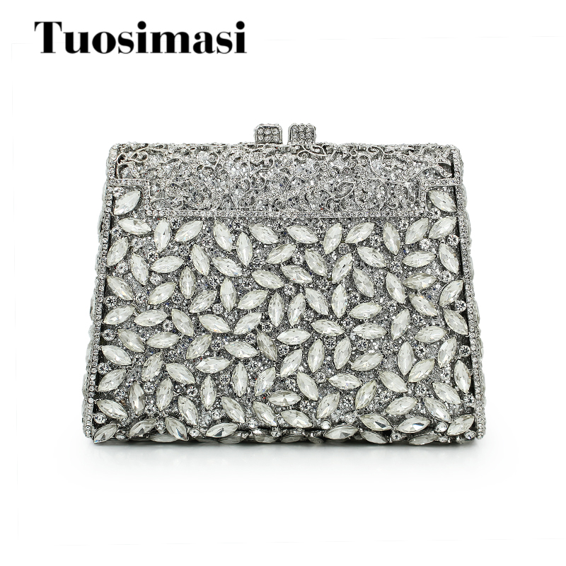 New white crystal clutch evening bag ladies party wedding purse hot selling handbags bag (88142A-S) gbc fusion 3000l a4