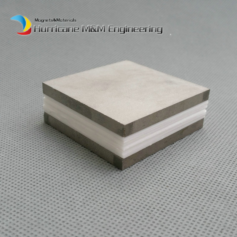 2pcs SmCo Magnet Block 50x50x5 mm 2 Plate YXG28H 350 degree C High Temperature Motor Magnet Permanent Rare Earth Magnets 1pc smco magnet block 3 x1 x1 customized 76 2x25 4x25 4 mm yxg28h 350 degree c high temp strong permanent rare earth magnets