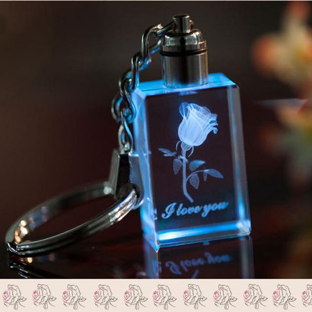Souvenir LED Light Keychain Keyring